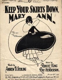 Keep Your Skirts Down, Mary Ann - Fox-Trot Song