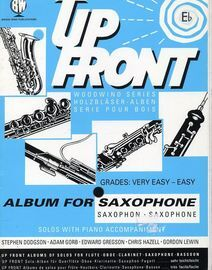 Up Front - Album For Saxophone - Grades Very Easy to Easy - Solos with Piano Accompaniment
