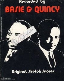 Basie and Quincy - Original Sketch Scores