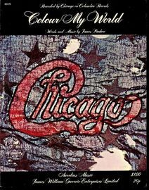 Colour my World - Recorded by Chicago