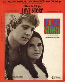 (Where Do I Begin) Love Story - Song from 'Love Story' Featuring Ali MacGraw and Ryan O'Neal - Guitar arrangement