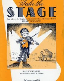 Take the Stage - Easy pieces for beginner violinists with a 'showbiz' theme - For Violin and Piano