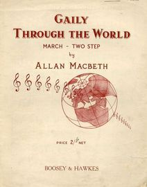 Gaily Through the World - March two step