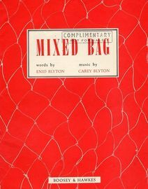 Mixed Bag - A Short COllection of Songs and Unison Songs for Infants and Juniors