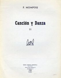 Cancion y Danza - No. III