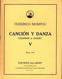 Cancion y Danza - No. V