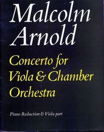Concert for Viola & Chamber Orchestra - Piano Reduction & Viola part