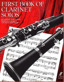First Book of Clarinet Solos - For B flat Clarinet and Piano - 28 Pieces