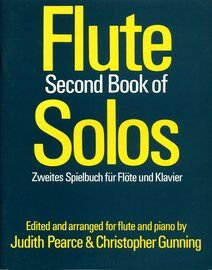 Flute Second Book of Solos - For Flute and Piano