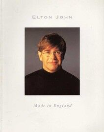 Made In England - Featuring Elton John - Album with Biography - Piano - Vocal - Guitar