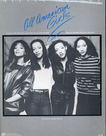 All American Girls - Recorded on Cotillion Records by Sister Sledge