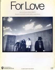 For Love - Recorded by the Pousette-Dart Band on Capitol Records