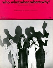 Who What When Where Why - Featuring Manhattan Transfer