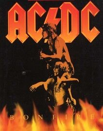 AC/DC - Bonfire - Guitar Tablature Edition with Words