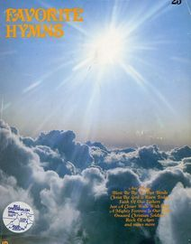 Favourite Hymns - Hal Leonard Piano/Vocal/Guitar Series - 50 Hymns