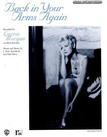 Back in Your Arms Again - Featuring Lorrie Morgan - Original Sheet Music Edition