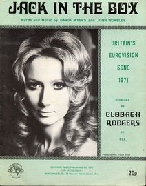 Jack in the Box - Clodagh Rodgers -  Eurovision Song Contest Winner 1971