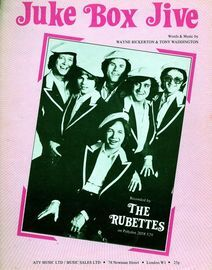 Juke Box Jive - The Rubettes (b/w photo)