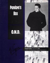 Pandora's Box - O.M.D - For Piano and Voice with Guitar chord symbols