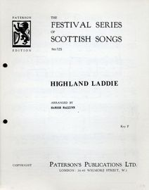 Highland Laddie - The Festival Series of Scottish No. 125 - Key of F