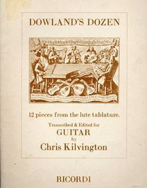 Dowland's Dozen, 12 pieces from the lute tablature