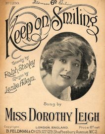 Keep on Smiling - Song featuring Miss Dorothy Leigh