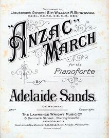 Anzac - March for Piano