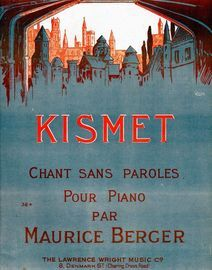 Kismet, chant sans paroles