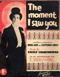 The Moment I Saw You - Sung by and Featuring Cicely Courtneidge in the Gainsborough film