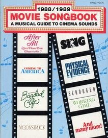 1988/1989 Movie Songbook - A Musical Guide to Cinema Sounds - Piano - Vocal
