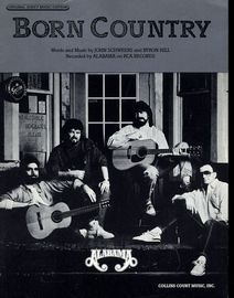 Born Country - Featuring Alabama - Original Sheet Music Edition