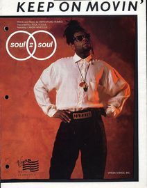 Keep on Movin\' - Featuring Soul II Soul - Original Sheet Music Edition