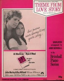 Theme from Love Story, from the Paramount picture