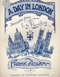 A Day in London (descriptive piece) - For Piano Solo
