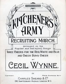 Kitcheners Army, recruiting march