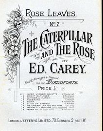 The Caterpillar and the Rose, No. 7 of