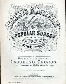 Christy's Minstrels Popular Songs for the Pianoforte, with choruses