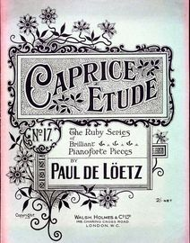 Caprice Etude, No. 17 of the Ruby Series