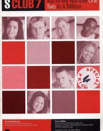 S Club 7 - You\'re My Number One - Two In A Million