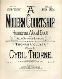 A Modern Courtship - Humourous Vocal Duet - In the key of D major for Baritone - Soprano