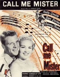 Call Me Mister - From the 20th Century Fox Musical Film ''Call me Mister''