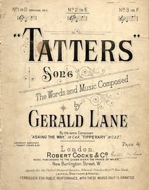 Tatters - Song - In the key E major