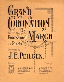Grand Coronation March - Processional March for Piano - Op. 33