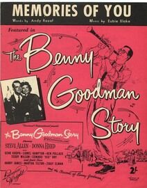 Memories of You - Featured in The Benny Goodman Story