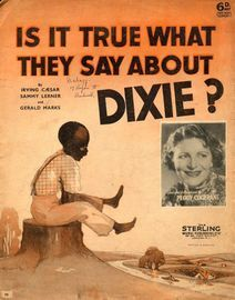 Is it True What they Say About Dixie? - Featuring Peggy Cochrane