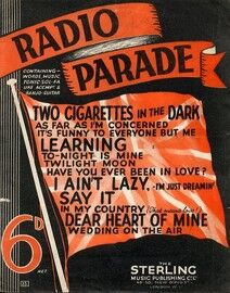 Radio Parade Selection - Words - Music - Tonic Solfa - Ukulele - Banjo - Guitar