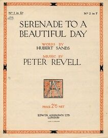 Serenade to a Beautiful Day - Key of E Flat Major for Lower voice