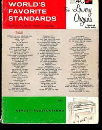 World's Favorite Standards for Lowrey Organs (Spinet and Pre-Set Models) - World's Favorite Series No. 40
