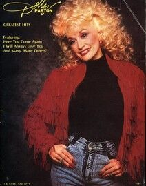 Dolly Parton Greatest Hits - For Voice, Piano and Chords - Featuring Dolly Parton