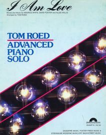 I am love - Tom Roed Advanced Piano Solo